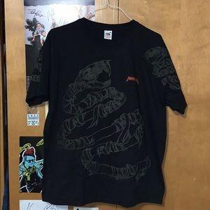METALLICA snake shirt